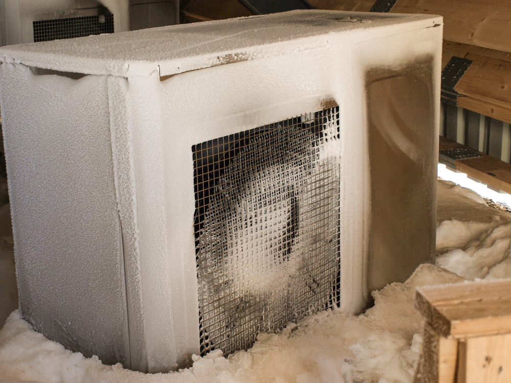Is Your Heat Pump Freezing Up Ada Heating Amp Air In